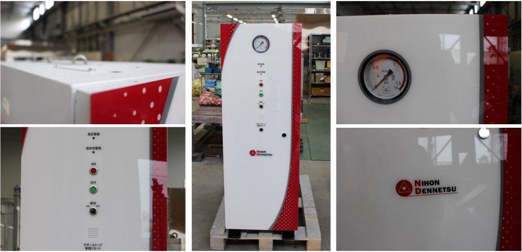 印刷樹脂板の採用により、高いデザイン自由度